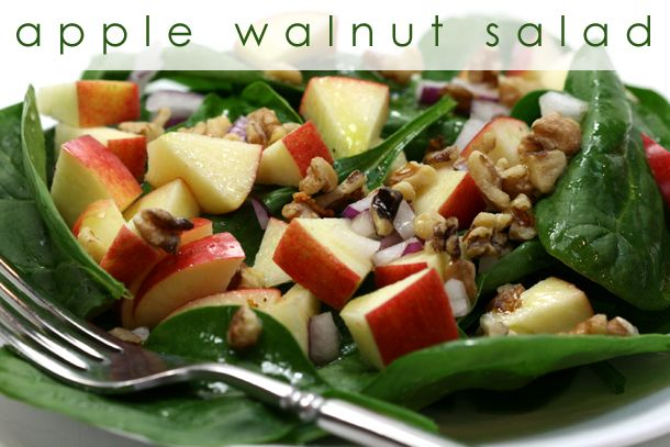 Apple Walnut Salad   Fabulous Fruit Salads!   Pinterest