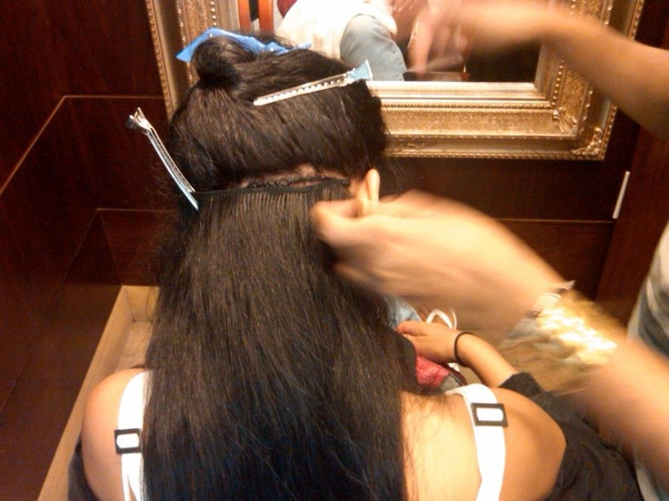 Hair Extensions Sewing 84