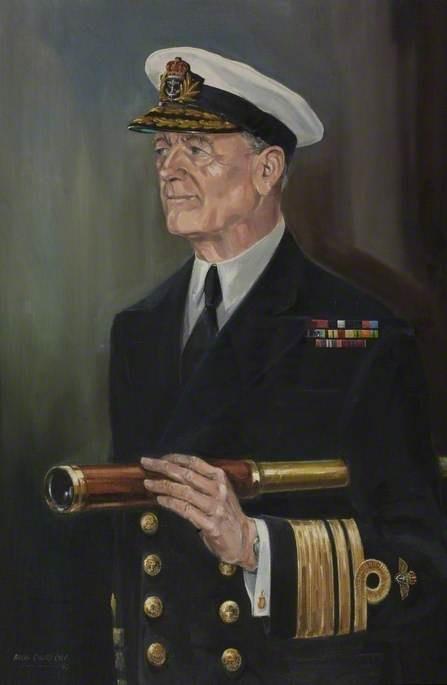 Vice Admiral Sir Donald Gibson (1917–2001), KCB, DSC