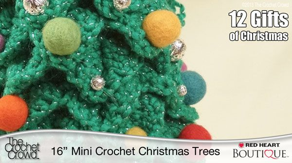 Free Crochet Pattern For Mini Christmas Tree : Mini Crochet Christmas Trees Pattern Crochet: Patterns ...