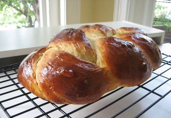 Challah Bread -- I used to make this all the time. Not sure if this is ...