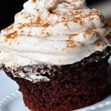 Chocolate Red-Wine Cupcakes With Mascarpone Icing | Yummly