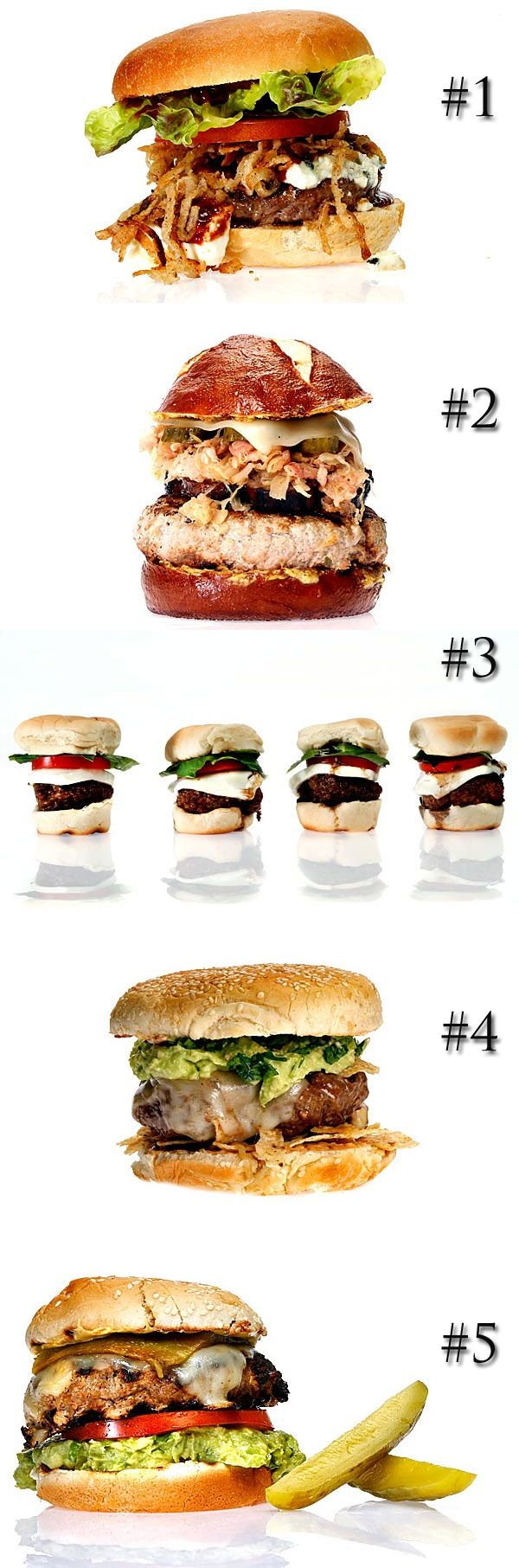 ... are in: The Top 5 burgers in our first ever Battle of the Burgers