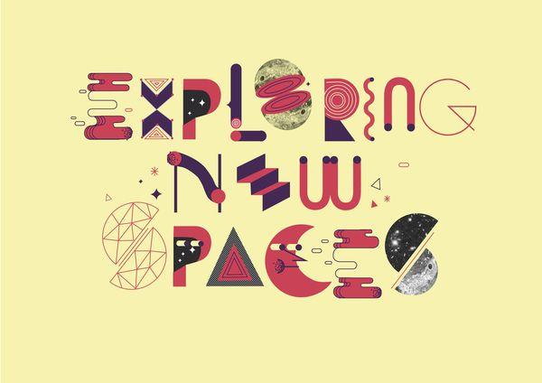 Exploring new spaces by Jose Miguel Méndez, via Behance