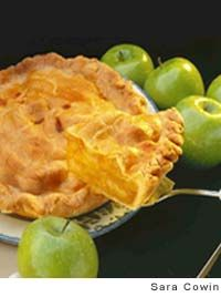 Cheddar-Crust Apple Pie...because yeah, someday I'll tackle fruit pies ...