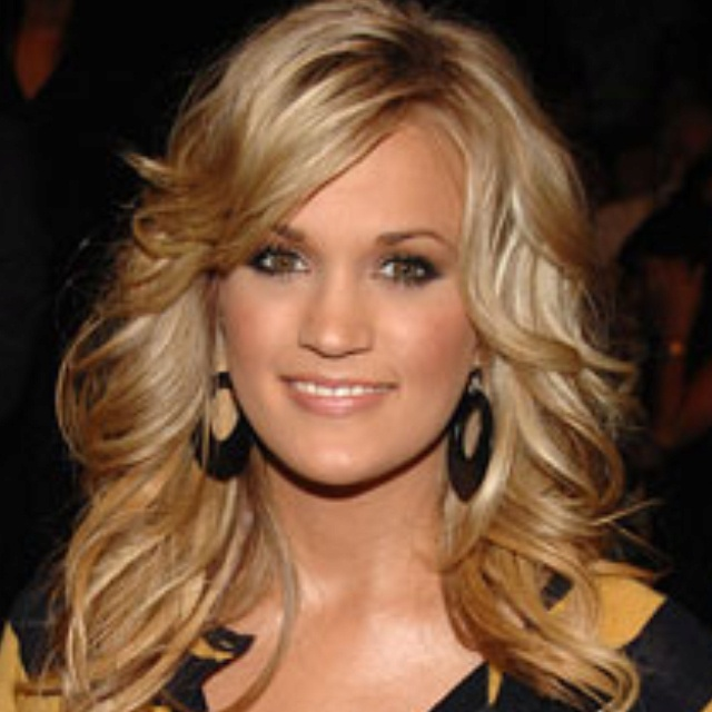 wavy hair with side bangs hairstyles pinterest