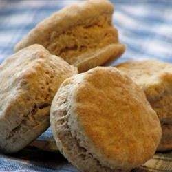 Fluffy Whole Wheat Biscuits | Breads | Pinterest