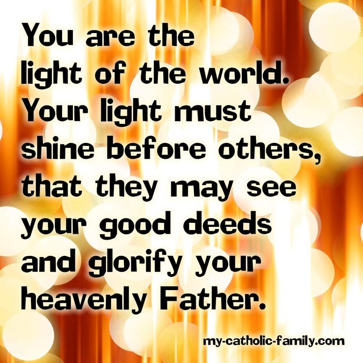 light of the world quotes like success
