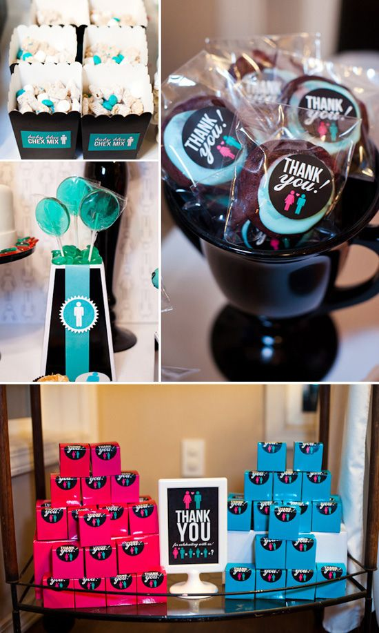 Boy Vs Girl Games Party : Gender Reveal Party: Girl vs Boy - SUPER cute party