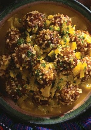 Moroccan lamb & rice meatballs | Main Dishes | Pinterest