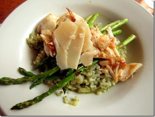 Crab and asparagus risotto | Savory Food | Pinterest