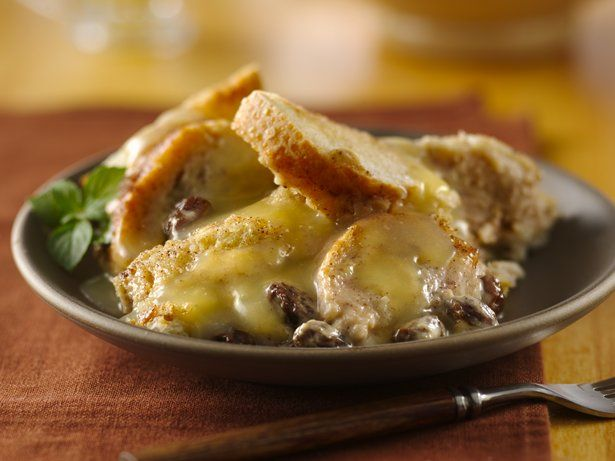 Bread Pudding with Whiskey Sauce | Recipe