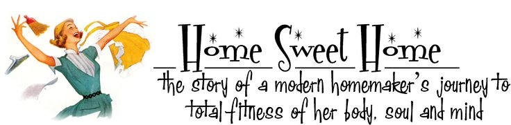 My Weight Loss Journey Blog   {Home Sweet Home}