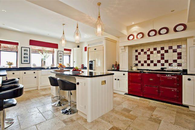 red aga country kitchen kitchen heaven pinterest