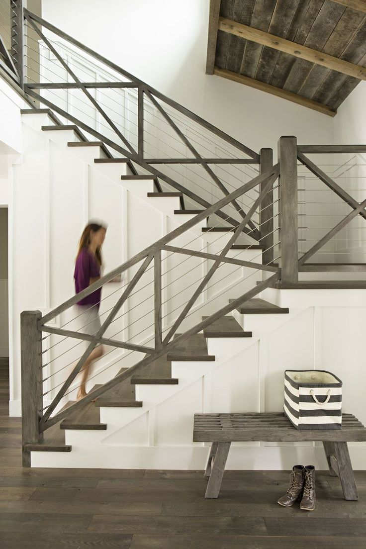 Like floor. Different for stairs from other selections, but i like it. Weathered gray wood.