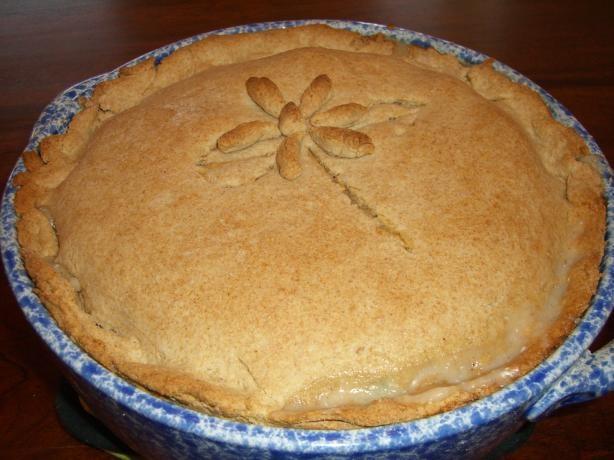 Chicken Pot Pie with Biscuit Crust | Recipe