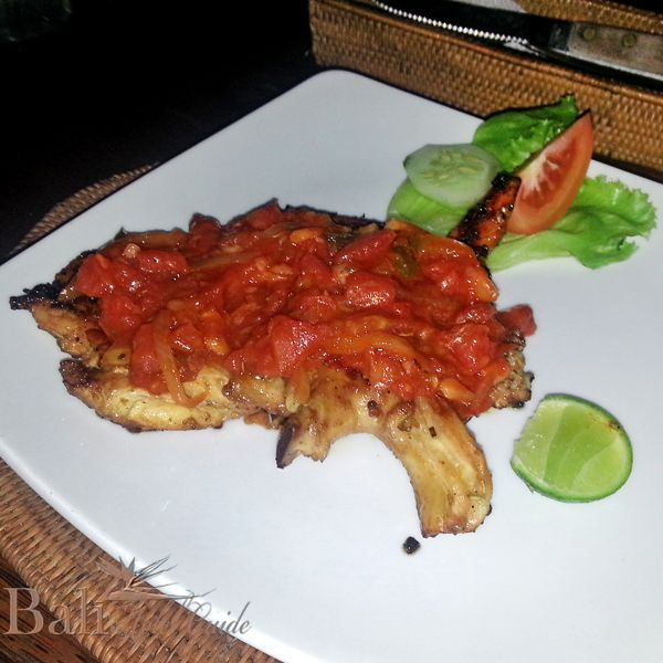 and easy, grilled chicken recipe, topped with a tomato tarragon sauce ...