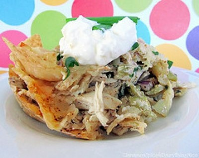 Chicken Tortilla Chip Casserole by Cinnamon Spice and Everything Nice