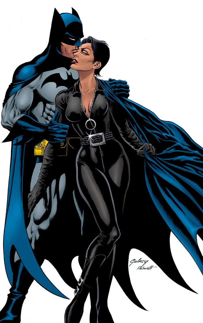 batman and catwoman | Comic-Graphic Art | Pinterest