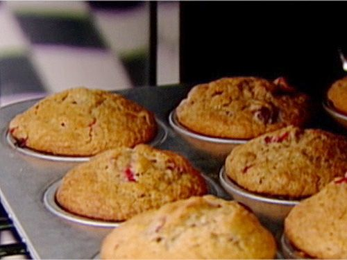 Cranberry Harvest Muffins from FoodNetwork.com
