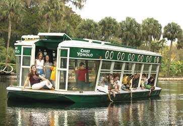 Orlando glass bottom boat