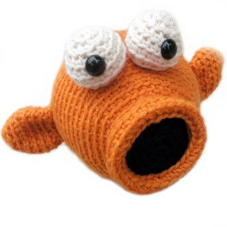 Crochet Fish Patterns Pinterest'te