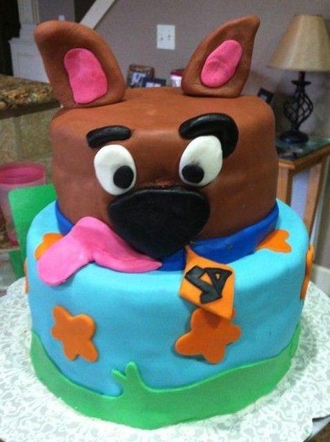 """Photo 1 of 39: Scooby Doo / Birthday """"Scooby Dooby Doo-Rific"""" Cake"""