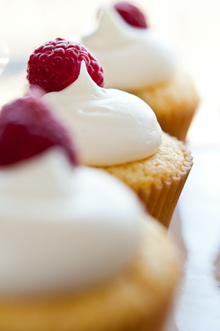 Raspberry Lemon Cupcakes Recipe — Dishmaps