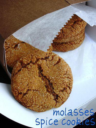 molasses spice cookies | Meals: Dinner | Pinterest