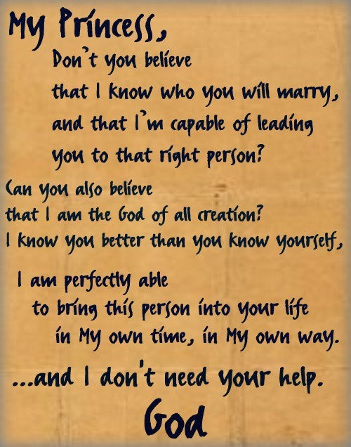 I needed to hear this more than you know... <3