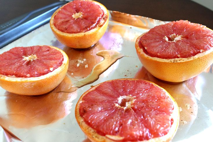 Broiled grapefruit | Sweets | Pinterest