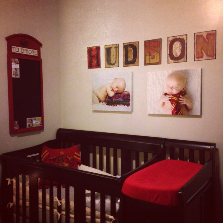 Harry potter baby nursery emily pinterest - Harry potter crib set ...