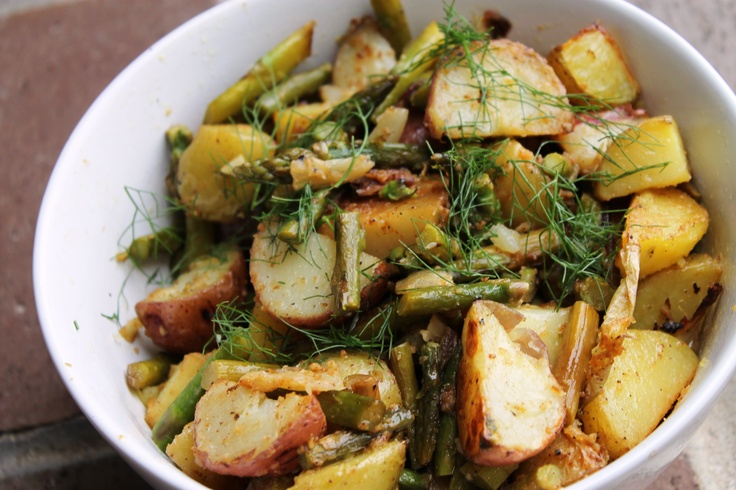 Roasted Fennel And Potatoes Recipe — Dishmaps