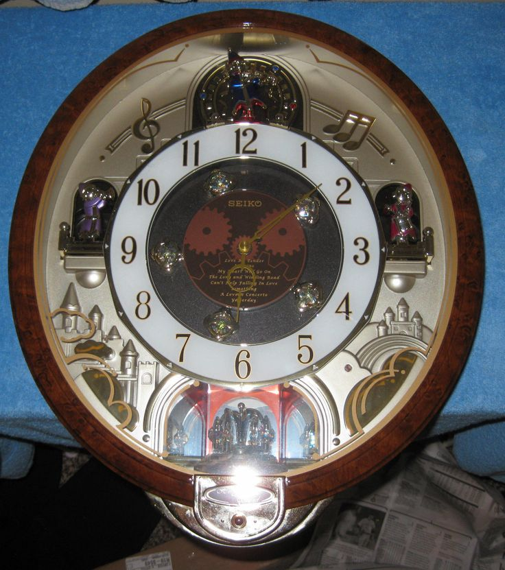 Pin by the beatles collectionary on the beatles for Seiko musical wall clocks beatles