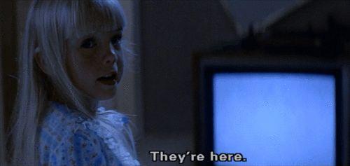 They're here (Poltergeist) | Movie Geekery | Pinterest
