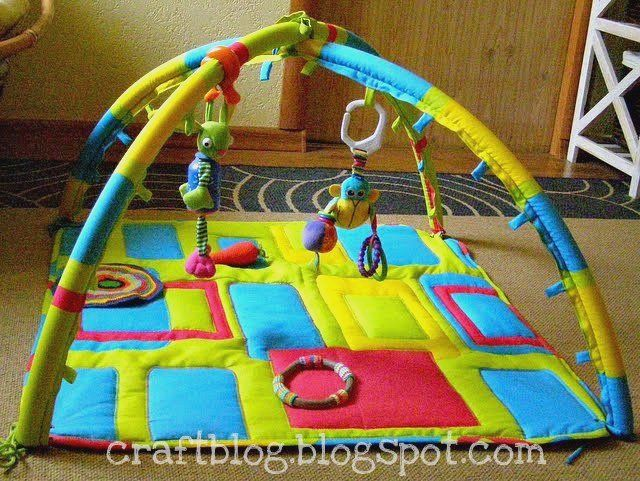 Развивающий коврик своими руками мастер класс с дугами