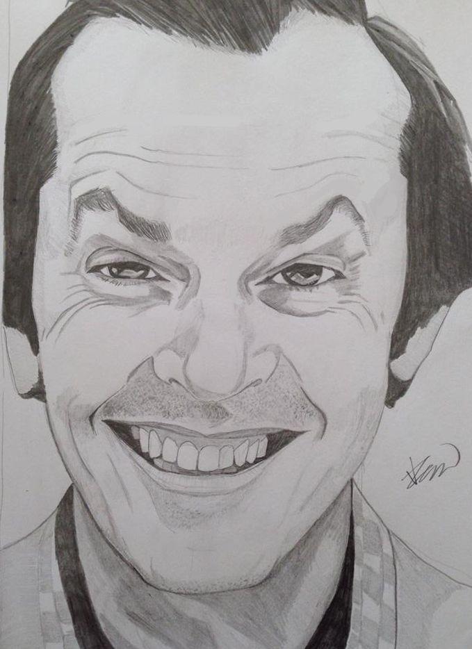 Jack Nicholson sketch ...