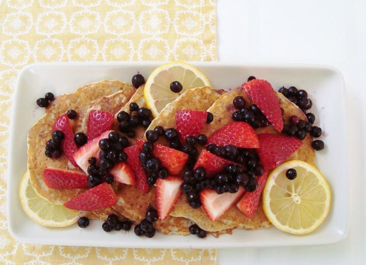 Lemon-Chia Seed Pancakes   Eat: Breakfast   Pinterest