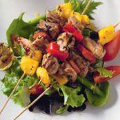 Chicken Mango Skewers | Food :) | Pinterest