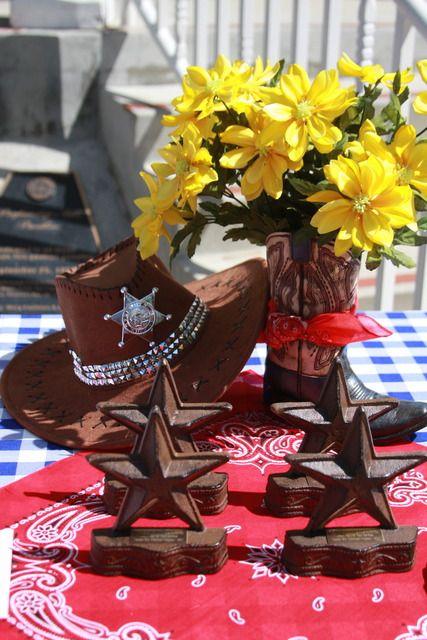 Western Theme Fundraiser Party Ideas