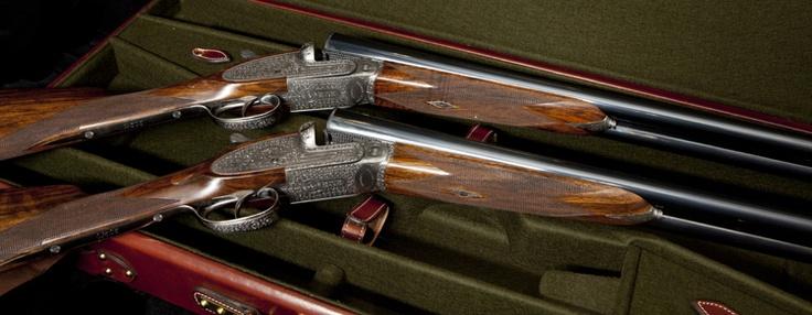 William Evans Ltd : The Connaught Shotgun Pair of 20 gauge.