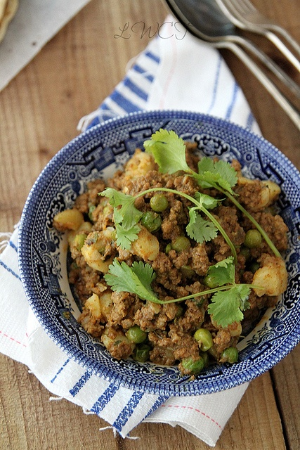 Beef Keema with Peas & Potatoes | Looks Who's Cooking