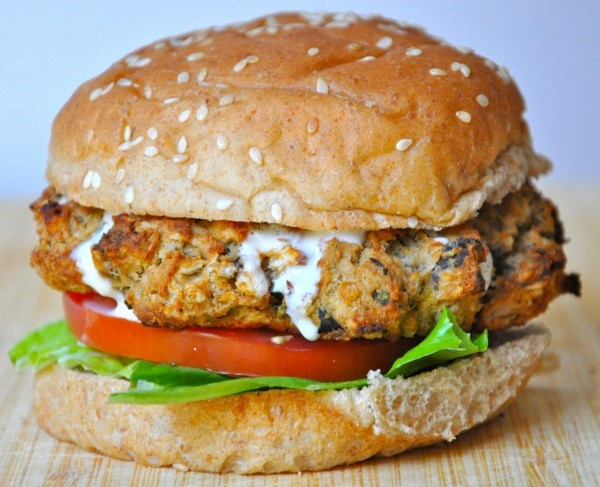 Vegan Baked Eggplant Burger | Best Vegetarian Sandwiches! | Pinterest