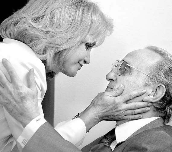 Country Singer Barbara Mandrell embraces her father and former manager, Irby Mandrell in 2006.  Irby taught his daughter to play an array of musical instruments at his shop, Oceanside Music Supply.  Barbara graduated from Oceanside High in '67 and was Miss Oceanside in '65.  She and her family performed at local bars and nightclubs, including the Normandy at 215 North Hill Street (Coast Highway). She later went on to tour with Johnny Cash, June Carter, Patsy Cline and George Jones.