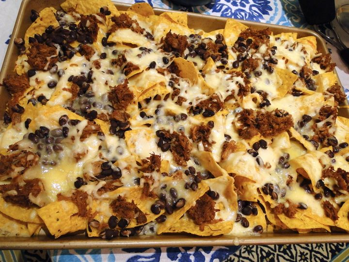 beer-braised carnitas nachos | Stuff I've made | Pinterest