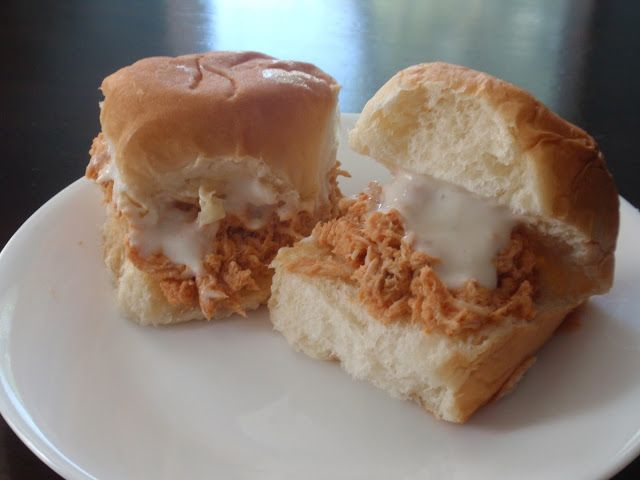 Buffalo Chicken Sliders Eating healthy Pinterest