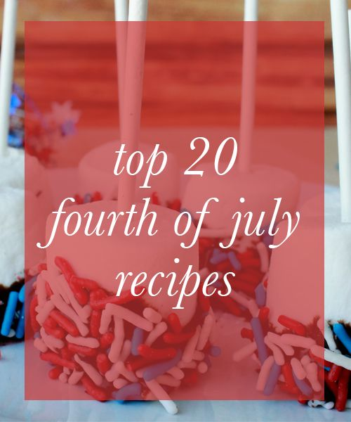 4th of july best recipes