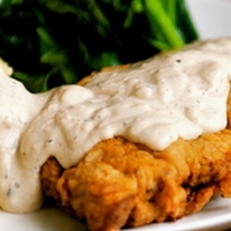 Chicken-Fried Steak with Cream Gravy | Food I want to try | Pinterest