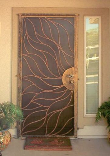 decorative security door for the home pinterest