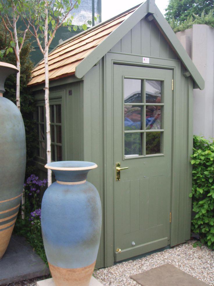 6x4 potting shed at chelsea flower show super sheds for Garden shed 6x4